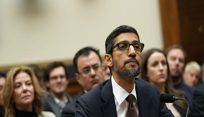Google CEO Testify